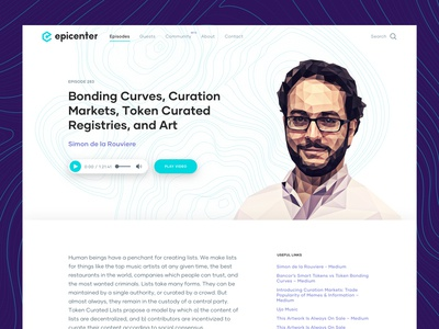 Epicenter Episode Page