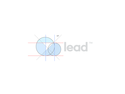 Lead Logo ux ui lead unfold compass direction manage customers cloud arrow design crm branding logo leads