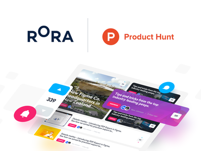 Rora is Live 🚀 agency unfold producthunt branding design designer feed newsfeed website app trends news rora