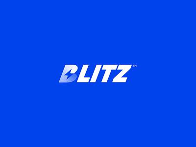 Blitz Logo agency unfold concept exploration branding bold letter b logo bolt lightning blitz