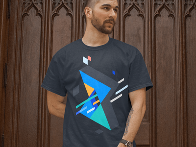 7pace Shirt branding logo unfold shirt mockup movement illustration hourglass development tracking time 7pace design shirtdesign shirts