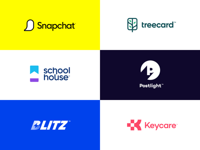 Logos of 2020 brand design school home card bank tree lighting bolt lighting medical light snapchat unfold agency brand branding fun reel portfolio logo