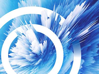 Digital Burst 3d illustrations graphic digital brust