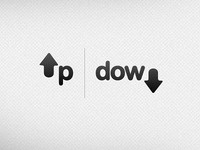 Up or Down // Negative Space