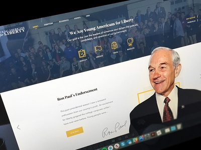 YAL About team ron paul liberty political resources history map staff mission website about