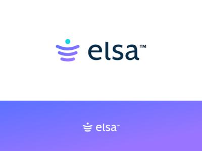 Elsa Concept layers person e processing payment logo brand branding