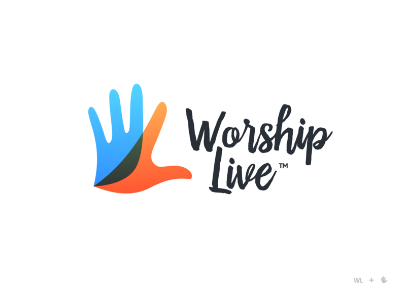 WorshipLive Logo bird dove wl convention conference songwriter singing praise christian faith worship logo