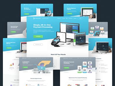 PJ Website LIVE logo app animation team illustration branding unfold homepage ux web ui design website