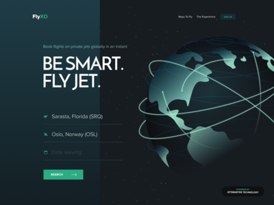 FlyXO Landing
