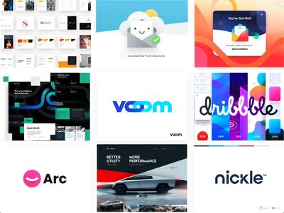 Top Nine of 2019 topnine agency portfolio popular unfold viral team logo branding dribbble tesla cybertruck gradient plugin illustrations icons brandbook 2020 2019 newyear