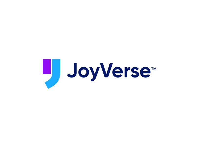 JoyVerse Logo brand branding design agency card unfold company christian verse bible verse bible quote agency team joyverse joy branding logo