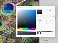 Photoshop Color Picker Redesign Concept