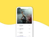 Music Screen UI mobile app design ui uxdesign ux music app uidesign mockup mobile design design figma