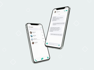 Direct Messaging - Daily UI 013 neumorphism message message app direct messaging dailyui013 userinterface digital mobile app design webdesign mobile ui app interfacedesign userexperiencedesign ui design dailyuichallenge dailyui