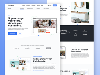 Use Cases & Industries - Solidus websites website web design web ux ui product design platform landing page ecommerce