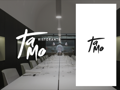 Tamo Ristorante - Logo restaurant mark logo branding