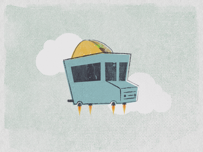 Flying taco truck