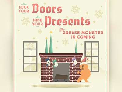 Grease Monster Christmas