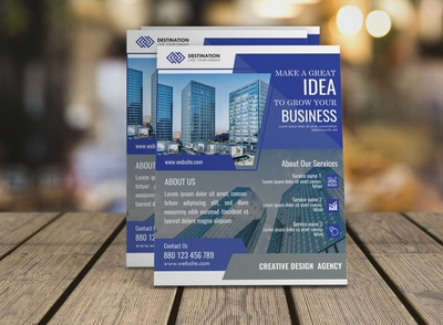 Eye catching Business Flyer Design
