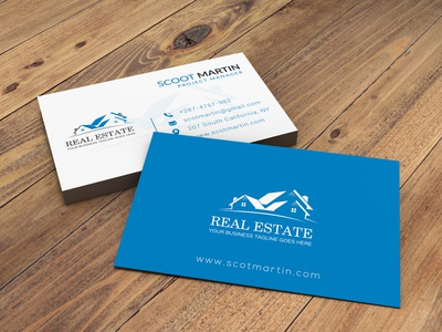 A professional business card