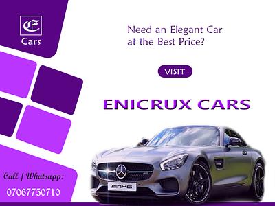 ernest cars card dealers e-flyer flyer design