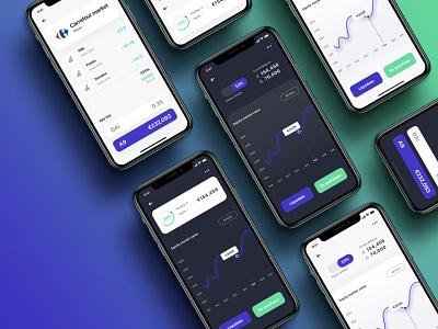 The people-powered pension fund mobile app app blockchain how it works graphic design lottie startup web design design branding illustraion logo black ux ui figma