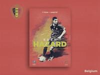 Retro Poster Collection - Eden Hazard