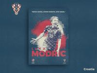 Retro Poster Collection - Luka Modric