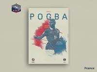 Retro Poster Collection - Paul Pogba