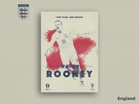 Retro Poster Collection - Wayne Rooney