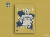 Retro Poster Collection - Zlatan Ibrahimovic