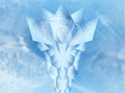 Ice Plant grain vector raster geometric photoshop illustrator