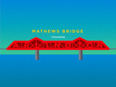 John Otto, take it to the Mathews Bridge