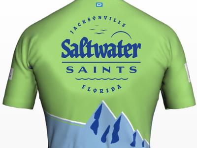 Cycling Team Branding: Saltwater Saints Jersey