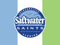 Cycling Team Branding: Saltwater Saints alternate logo