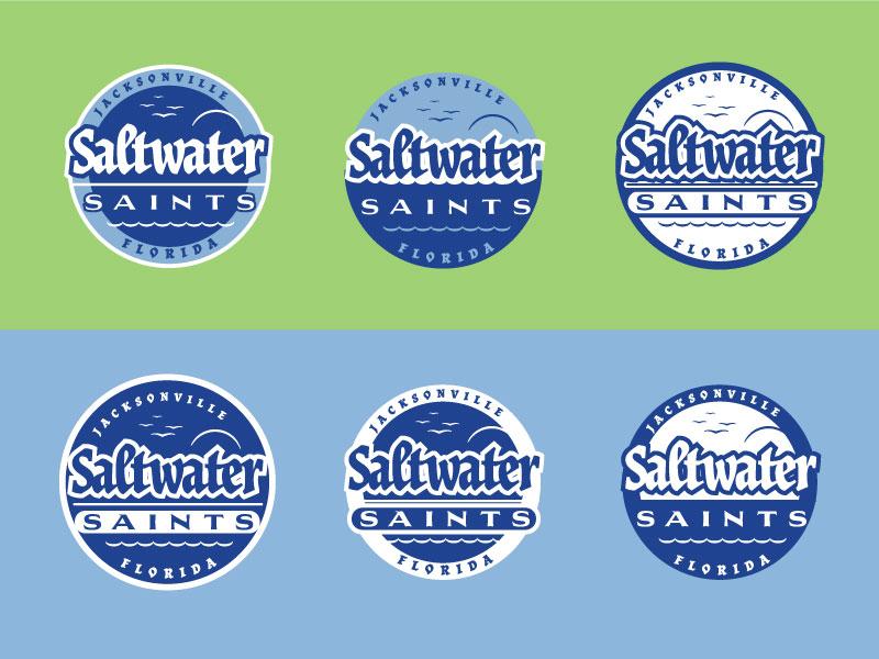 Cycling Team Branding: Badge Options florida design logos logo illustration typography illustrator vector