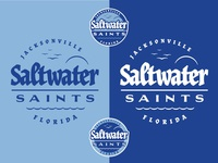Cycling Team Branding: Saltwater Saints logo sheet