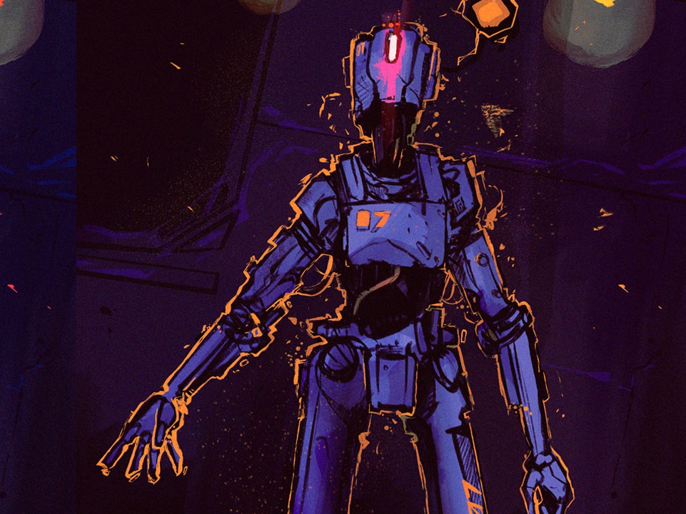 Abto character cyberpunk photoshop illustration 07 cyborg robots android science fiction scifi robot