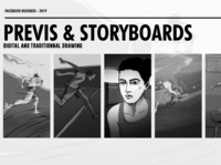 Storyboards for FB olympics