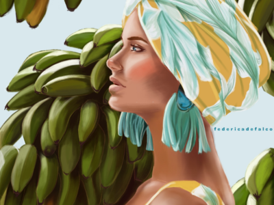 • Chiquita Banana • illustrations wacom photoshop