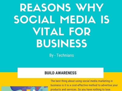 Reasons why social media is vital for business social media wordpress development seo digital marketing