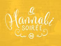 Hannabi Soiree Invite