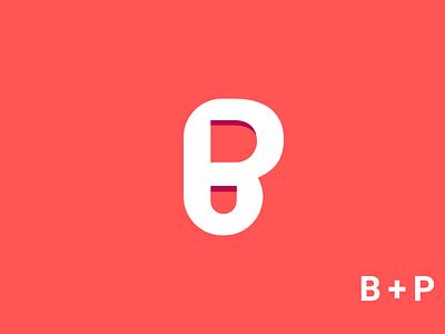 B P Logo design p latter logo b letter logo modern monogram print brand identity art abstract website vector typography minimal illustration identity icon branding logo design