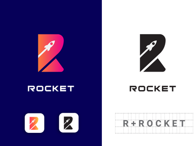 Rahat logo design for your Business modern logo top logo best logo abstract art rocket logo rocket art animal abstract website vector minimal illustration typography identity icon branding logo design
