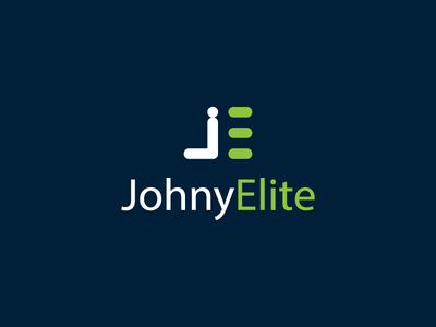 JohnyElite lattering abstract vector minimal typography illustration identity icon logo branding design jungle
