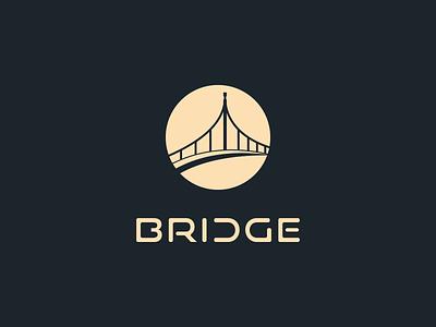 Bridge Art logo Design logodesign dribbble bridal shower professional logo logotype bright profassiona brand art website abstract vector typography identity icon logo branding design bridge