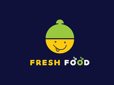 fresh food restaurant branding brand design brand identity flat symbol food illustration vector typography design minimal identity icon branding drink menu food app logo fresh design restaurant logo fresh
