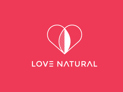 Love natural Combination logo brand design brand lovecraft icon logo branding design nature illustration nature logo nature art nature love marriage specialist love is love logotype love story lover love logo love day lovely love