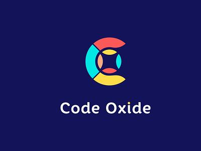 Code Oxide ( C+O combination logo mark ) colorgul logo minimalist logo modern logo quality logo best logo top logo brand colorful vector illustration typography minimal identity icon logo design branding lgoo oxide