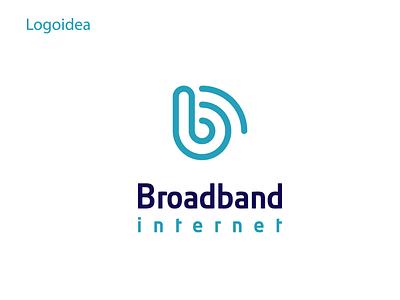 BroadBand illustration vector identity logo design branding logo design logo concept broadband logo internet logo idea internet concept internet deisgn wifi logo internet logo